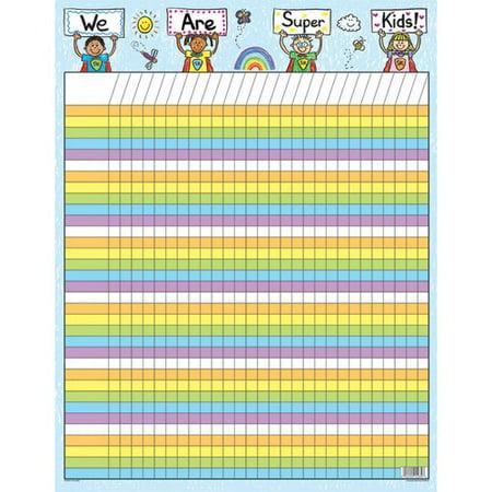Frank Schaffer Publications/Carson Dellosa Publications Incentive Super Kids Chart