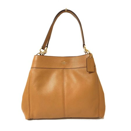 Coach F57545 Lexy Pebble Leather Shoulder Bag in Light