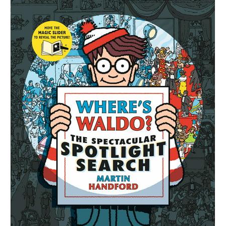 Where's Waldo? the Spectacular Spotlight Search (Hardcover)