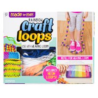 Made by Me Craft Loops Refill, Braiding and Weaving Loops, 6+