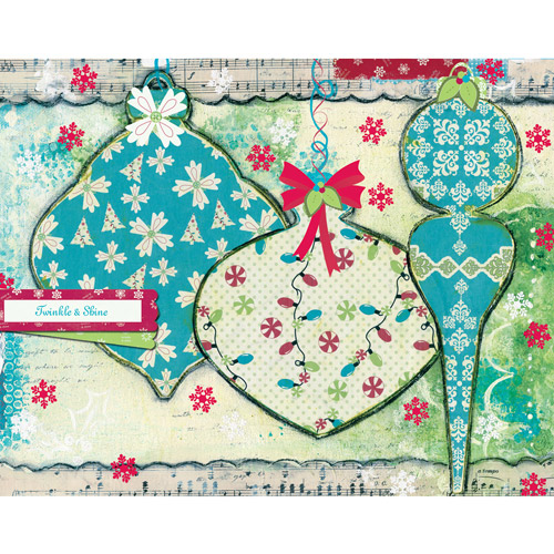 "Artisan ""Twinkle and Shine"" Classic Christmas Cards"