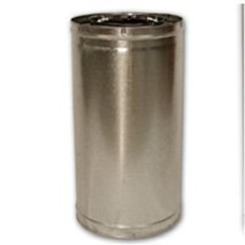 Pp Chmny 8In 18In Snp Lck Stl FMI PRODUCTS, LLC Insulated Chimney Pipe 18-8DM