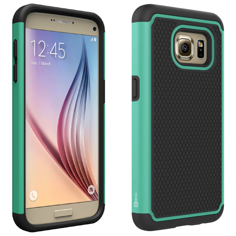 CoverON Samsung Galaxy S7 Case, HexaGuard Series Hard Phone Cover