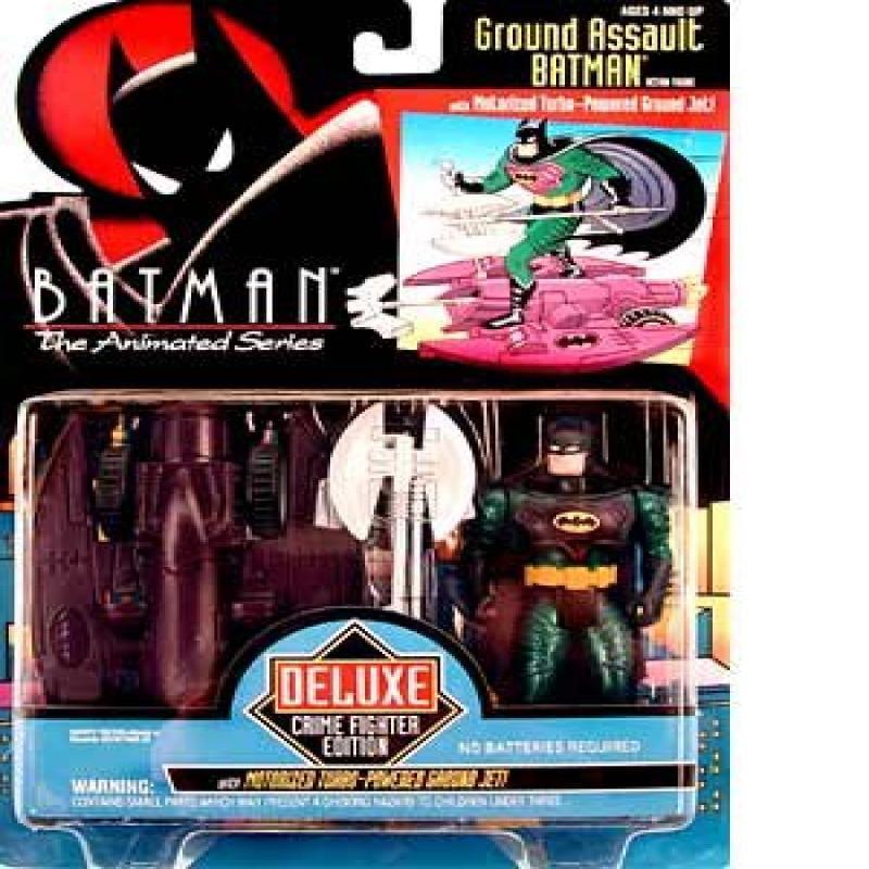 Batman the Animated Series Ground Assault Batman Action Figure