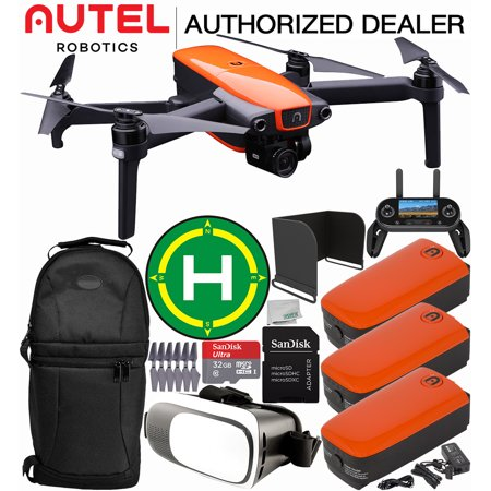 Autel Robotics EVO Foldable Quadcopter with 3-Axis Gimbal Ultimate Deluxe Bundle