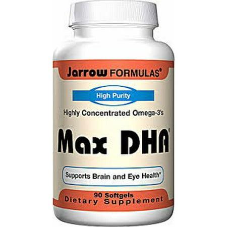 Chi Omega Block - Jarrow Formulas Max DHA - 90 Softgels