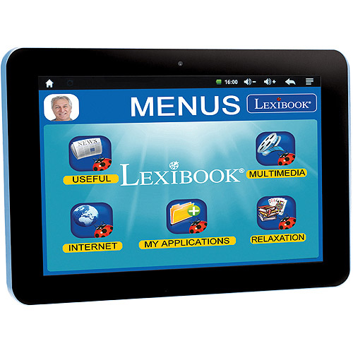 "Lexibook Serenity Ultra 8"" Tablet 8GB Memory Dual Core"