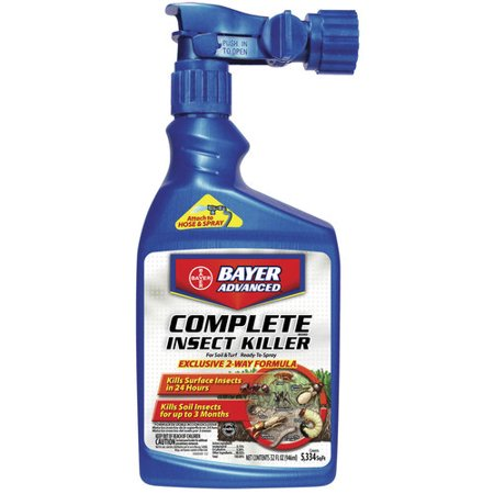 Bayer Complete Insect Killer (Bayer Complete Soil and Turf Insect Ready-To-Spray )