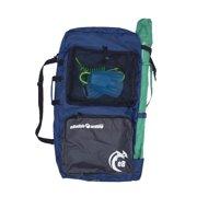 eBodyboarding.com 2-Board Bag with Umbrella Holder - Navy with Grey Pockets