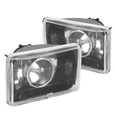 Spec-D Tuning For 1995-1997 Chevy S10 Blazer Black Projector Headlights 1996 (Left+Right)