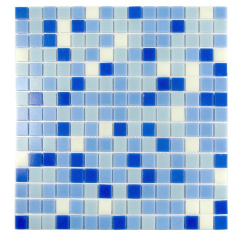 "Miseno MT-LAGOON3/4X20 Lagoon - 3/4"" X 3/4"" - Glass Visual - Wall Tile (Sold by"