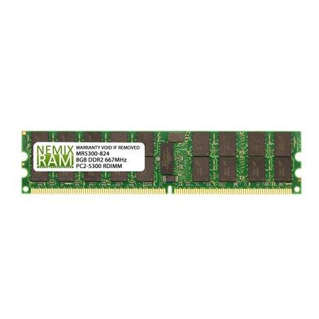 Supermicro equivalent MEM-DR280L-IL01-ER6 8GB (1x8GB) DDR2 667 (PC2 5300) ECC Registered RDIMM Memory RAM