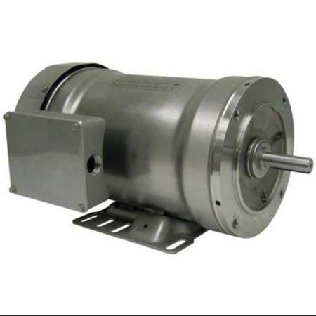 Bluffton 5Nul6 Washdown Motor 3 Ph Tefc 1 Hp 3450 Rpm
