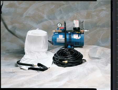 ALLEGRO 9220-01 Supplied Air Pump Package, 1 Ppl, 3 4 HP by Allegro