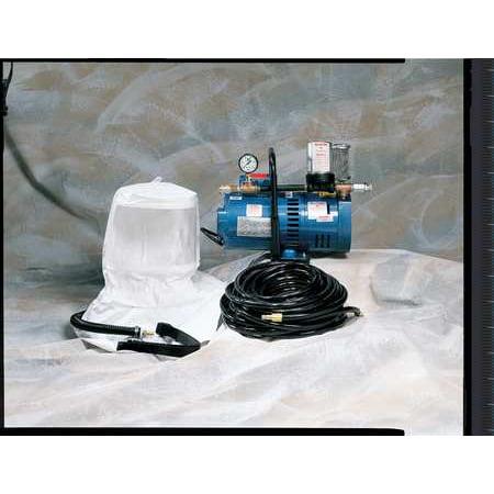 ALLEGRO 9220-02 Supplied Air Pump Package, 2 Ppl, 1-1/2 HP