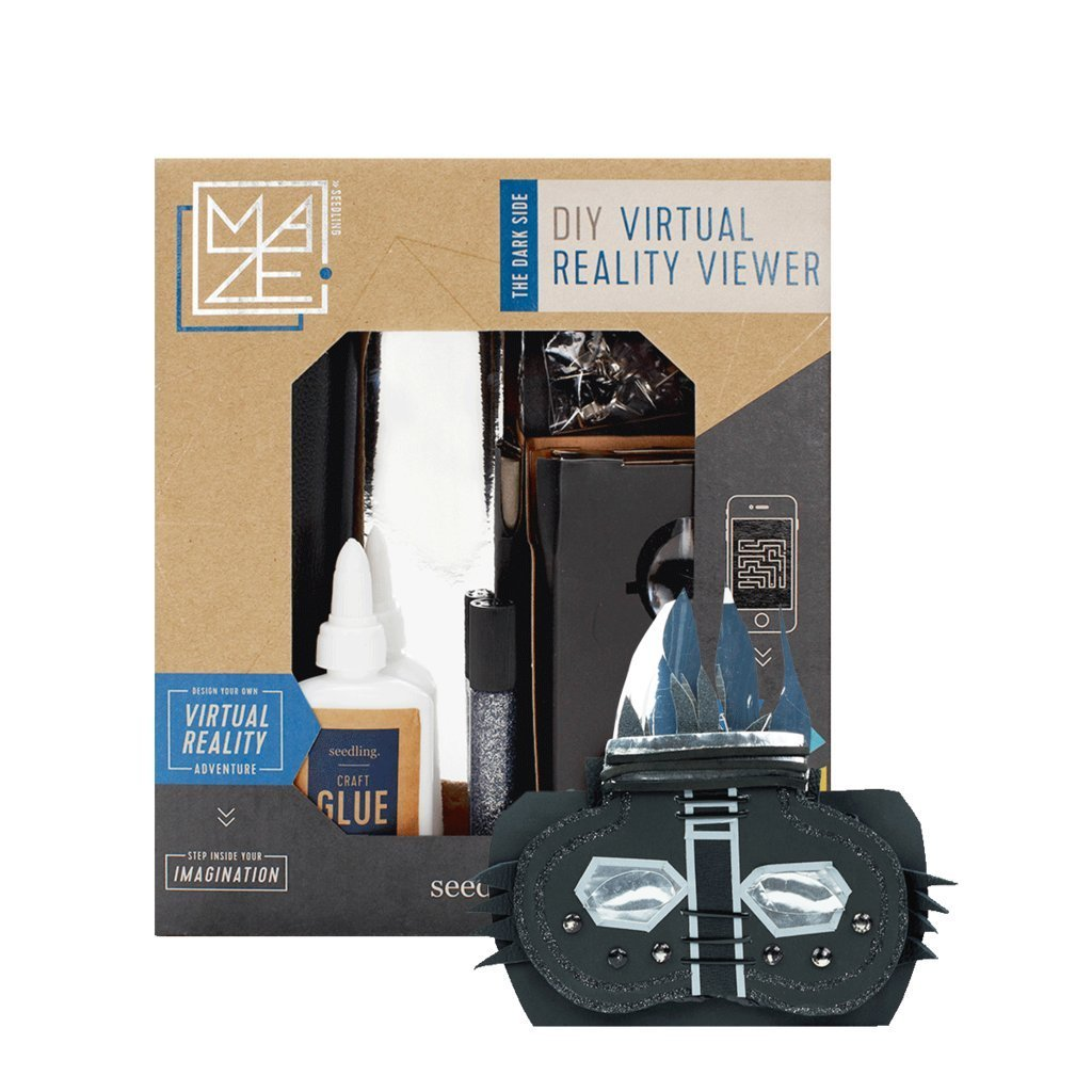 Design Your Own Virtual Reality Viewer: The Dark Side Activity Kit, Kids can design and create their own virtual reality viewer to show off their own personal style with.., By Seedling,USA