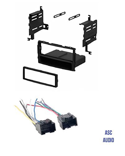 Wire Harness Antenna Adapter Combo for Installing an Aftermarket Double Din Radio for 2009 2010 Hyundai Sonata Other ASC Audio Car Stereo Install Dash Kit