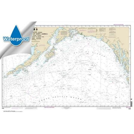 Pacific Coast Noaa Nautical Charts - WATERPROOF NOAA Chart 500: West Coast Of North America Dixon Ent To Unimak Pass