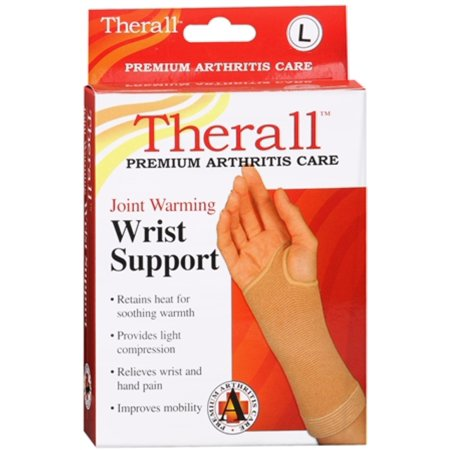 Therall Joint Warming Wrist Support Large 1 Each (Pack of 2)
