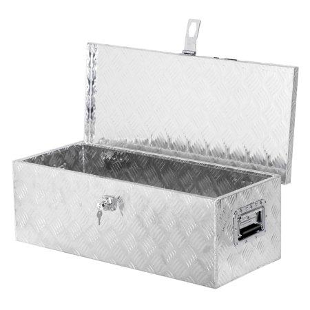 Heavy Duty Tool Box Liner - Zeny 30 inch Heavy Duty Aluminum Truck Tool Box W/ Lock and 2 Keys Storage for Truck Pickup Bed Trailer