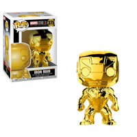 Funko Pop! Marvel: Marvel Studios 10 - Iron Man (Chrome Gold)