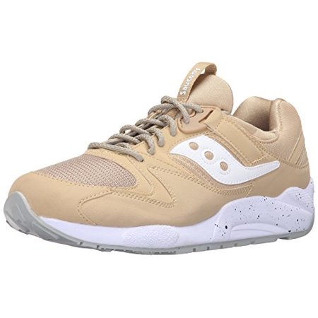 12dece06 Saucony Originals Men's Grid 9000 Sneaker (12 D(M) US, Wheat/white)