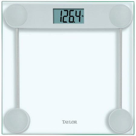 Taylor 755341932gy opp glass electric scale for Big w bathroom scales