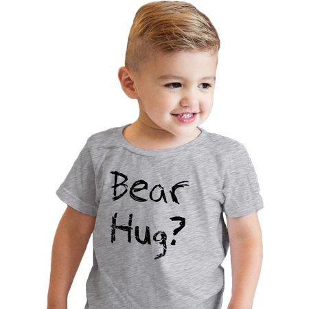 8790aaf19 Crazy Dog T-Shirts - Crazy Dog TShirts - Todder Grizzly Bear T shirt Funny  Bear Hug Shirt Humorous T shirt Novelty Tees - Walmart.com