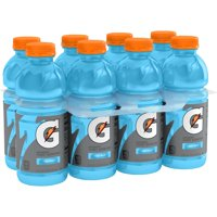 Gatorade Thirst Quencher Sports Drink, Cool Blue, 20 oz Bottles, 8 Count