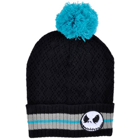 Disney Hats For Sale (Jacke Skellington Beanie Hat Knitted Pom Nightmare Before Christmas Disney)