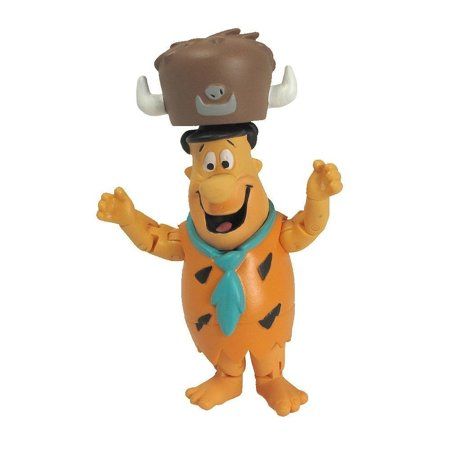 Hanna Barbera Flintstones 3 Inch Action Figure - Fred Flintstone, Hanna Barbera Flintstones 3 Inch Action Figure - Fred Flintstone By Other Manufacturer From - Pebble From Flintstones
