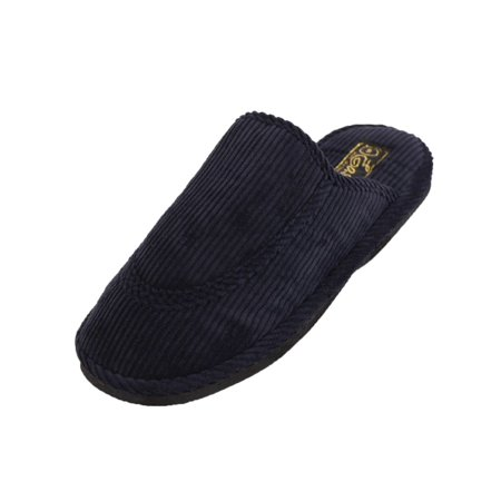 Comfort Scuffs - Easy USA Men's Open Back Corduroy Comfort Slippers