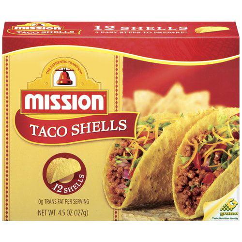 Mission Taco Shells, 12 ct
