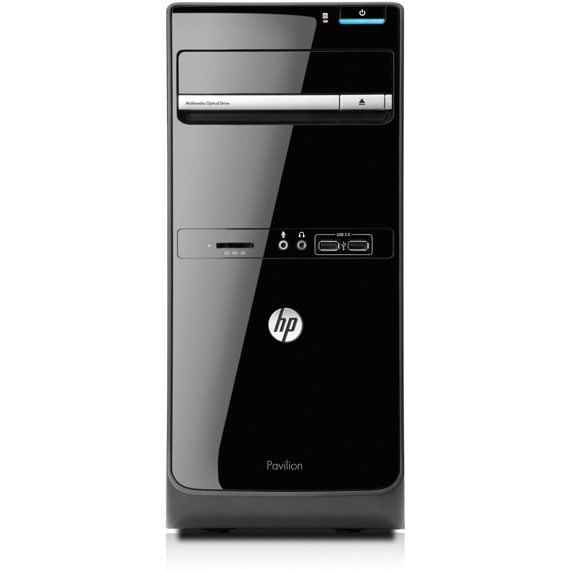 HP Refurbished Pavilion p6 - 2143W Desktop PC with AMD Quad - Core A6 - 3650 Accelerated Processor, 8GB Memory, 1TB Hard Drive and Windows 7 Home Premium (Monitor Not Included)