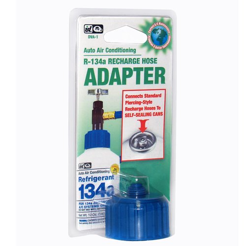 Interdynamics R-134a Recharge Hose Adapter for Self-Sealing Cans (California Only)