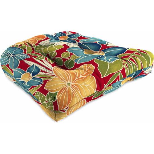 Jordan Manufacturing Outdoor Patio Wicker Seat Cushion