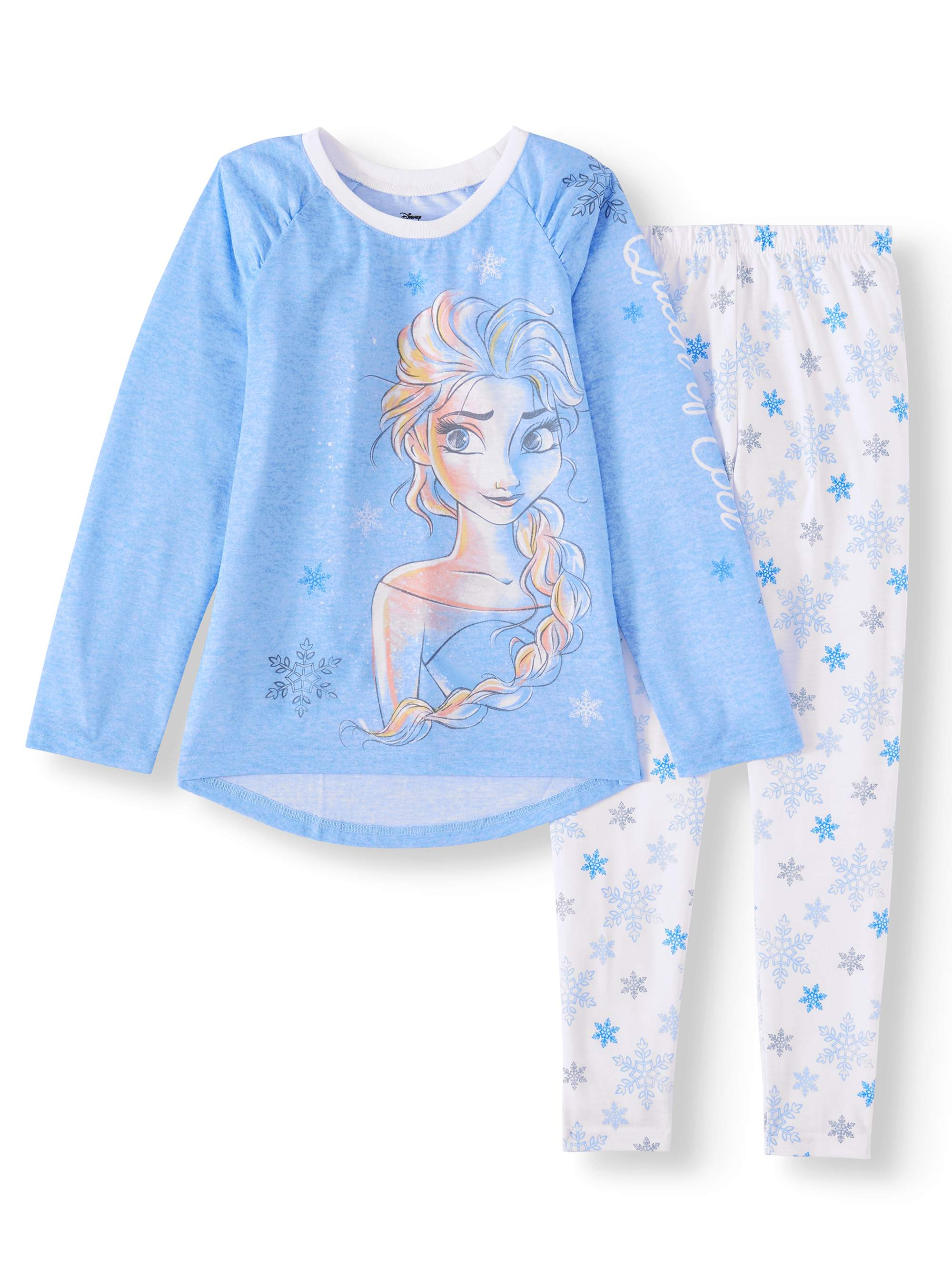 Frozen Elsa Girl's 2-Piece Pajama Set (Little Girls & Big Girls)