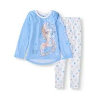 Disney Frozen Elsa 2-Piece Pajama Set (Little Girls & Big Girls)