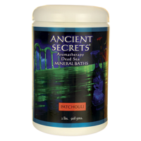 Ancient Secrets Dead Sea Mineral Baths Patchouli 2 lbs Salt
