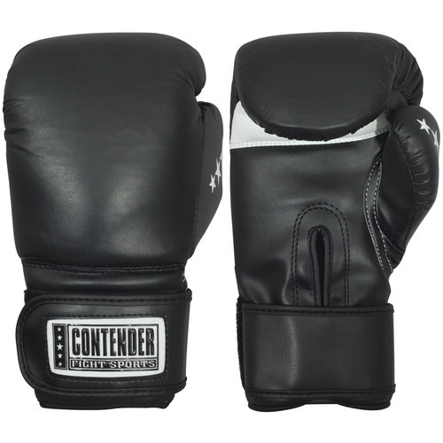 Contender Fight Sports Leather Boxing Bag Gloves, Large