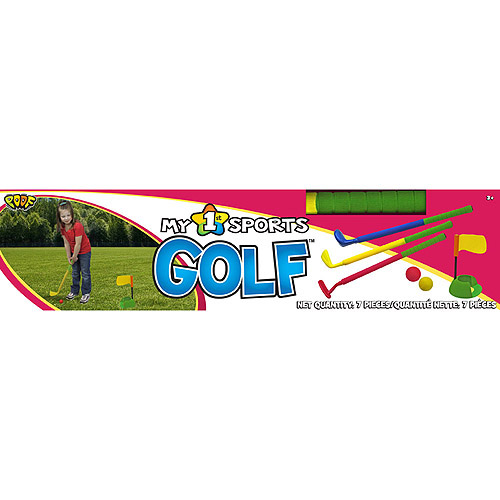 POOF-Slinky POOF My 1st Sports Golf Set with Padded Foam Clubs and Balls