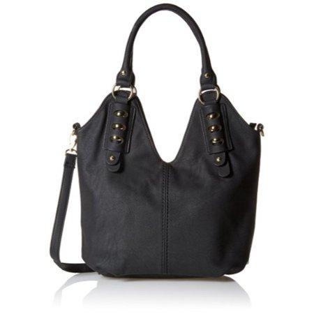 Bag Black Collection - MG Collection Modern Shoulder Bag, Black, One Size