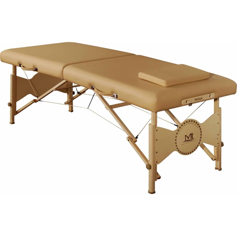 "MT Massage Midas-Entry 28"" Professional Portable Massage Table Package, Beige"