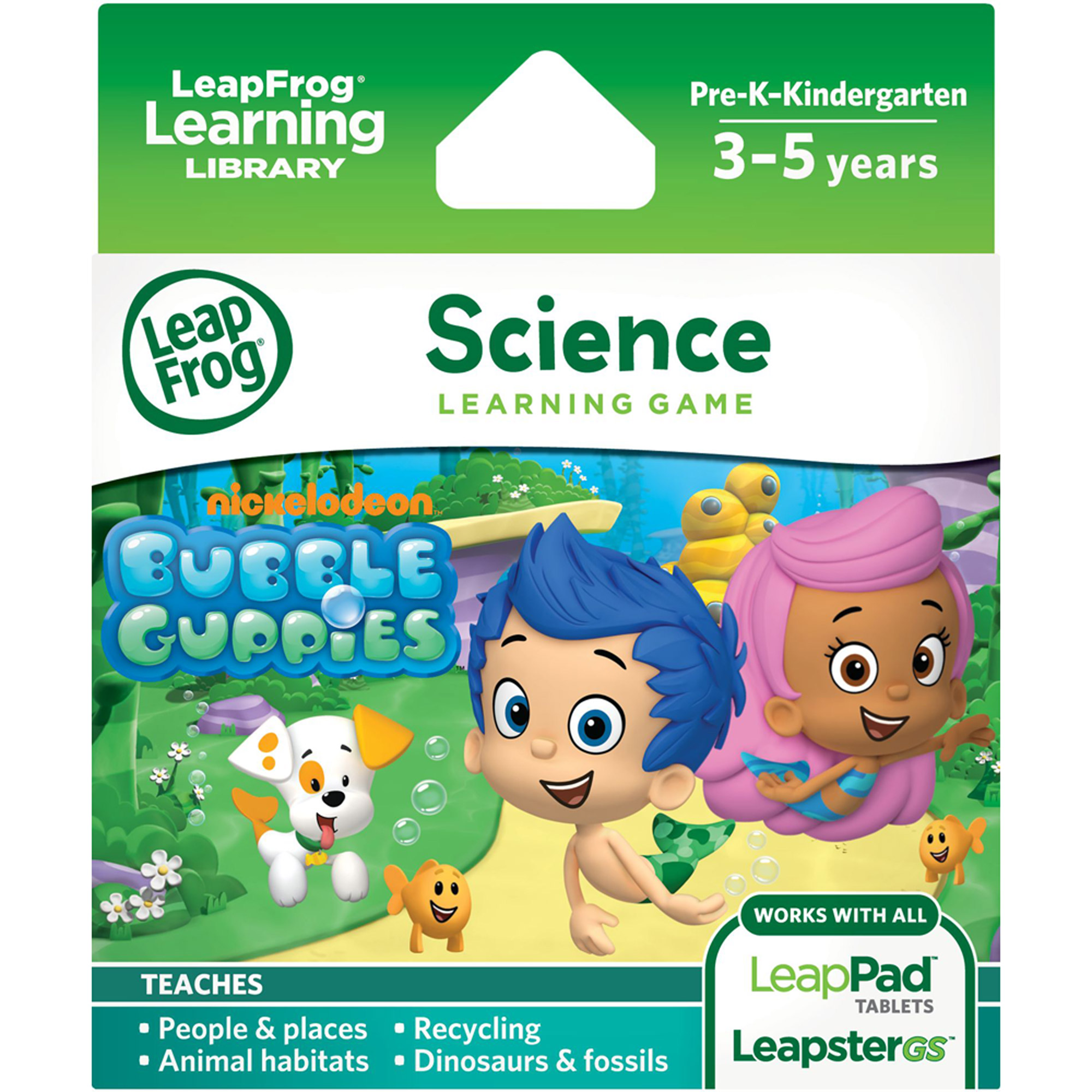 LeapFrog Leapster Explorer Learning Game, Nickelodeon Bubble Guppies