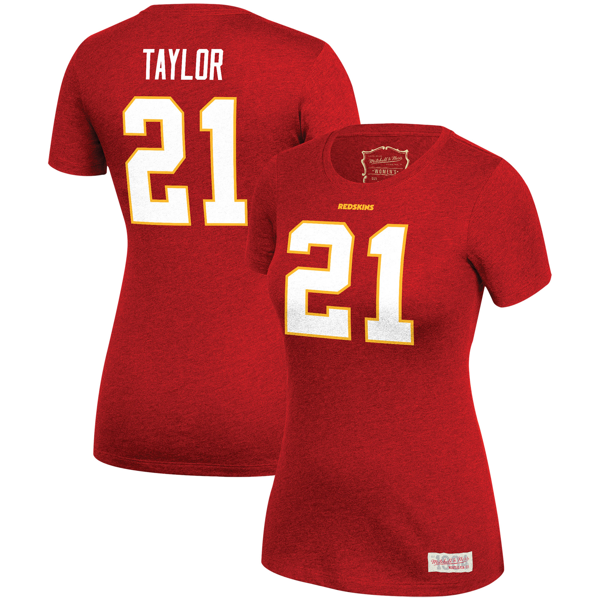 online store def64 c6a20 Sean Taylor Washington Redskins Mitchell & Ness Women's Retired Name &  Number T-Shirt - Burgundy