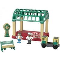 Thomas & Friends Wood Knapford Train Station Set