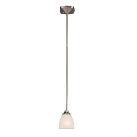 Design House 578310 Perth Mini Pendant Light, Satin
