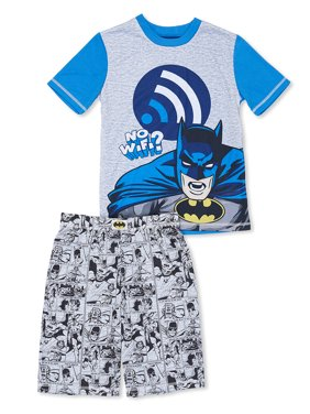 f45b13fff5f Product Image Boys  Batman 2 Piece Pajama Short Set (Little Boy ...