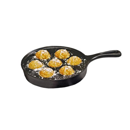 Camp Chef Cast Iron Aebleskiver Pancake Puff Pan Cast Iron Corn Muffin Pan