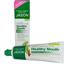 Toothpaste: JASÖN Healthy Mouth Paste